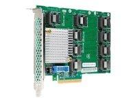 HPE SAS Expander Card - Storage Controller Upgrade Card - SATA 6Gb/s / SAS 12Gb/s - PCIe