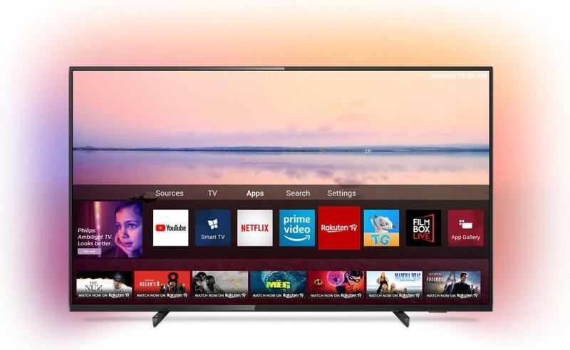 "Philips Ambilight 43PUS6704 43"" 4K HDR Smart TV"