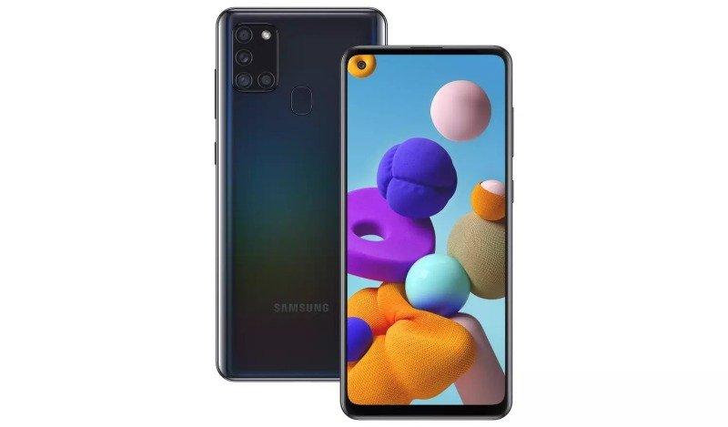 Samsung Galaxy A21s 32GB Smartphone - Black