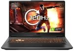 £949.98, ASUS TUF Gaming A17 Ryzen 7 8GB 512GB SSD GTX 1660Ti 17.3inch Win10 Home Gaming Laptop, AMD Ryzen 7-4800H 2.9GHz, 8GB RAM + 512GB SSD, 17.3inch FHD 120Hz Display, NVIDIA GeForce GTX 1660Ti 6GB, Windows 10 Home,