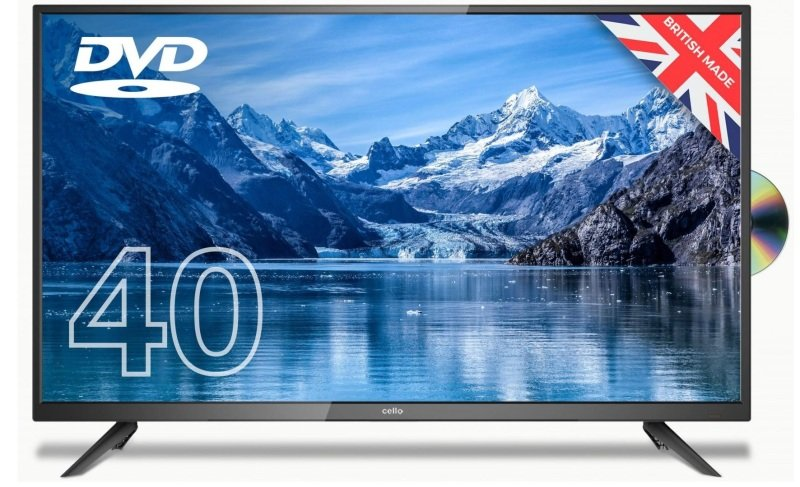 "Image of Cello C4020F 40"" Full HD LED TV With DVD Player and Freeview T2 HD"