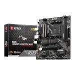 MSI MAG AMD Ryzen A520M VECTOR WiFi AM4 MicroATX Motherboard
