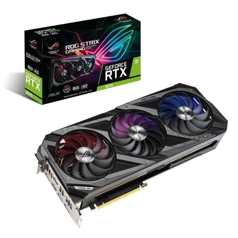 Asus GeForce RTX 3070 8GB ROG STRIX Ampere Graphics Card