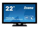 Iiyama ProLite T2236MSC-B2AG - 22'' LED Touch Screen Monitor - Full HD