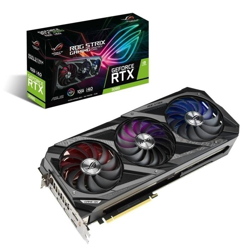 Asus GeForce RTX 3080 10GB GDDR6X ROG STRIX Ampere Graphics Card
