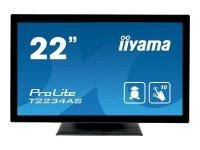 Iiyama ProLite T2234AS-B1 - 22'' LED Touch Screen Monitor - Full HD