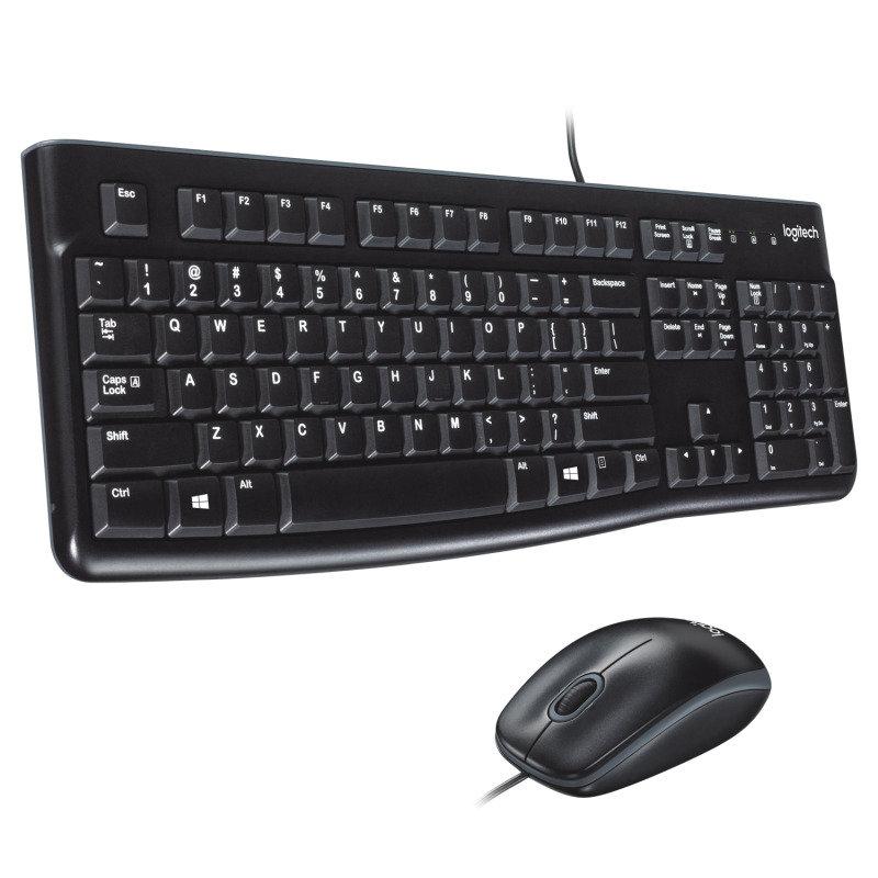 Logitech Desktop MK120 UK Layout