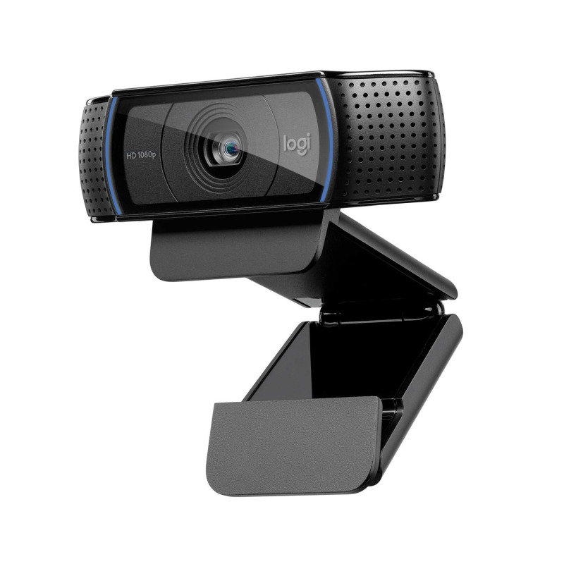 Logitech C920 HD PRO Webcam - Full HD 1080p video calling with stereo audio