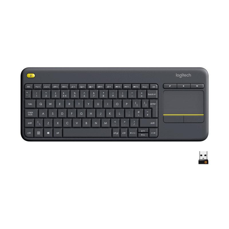 Logitech Wireless Touch Keyboard K400 Plus QWERTY UK La