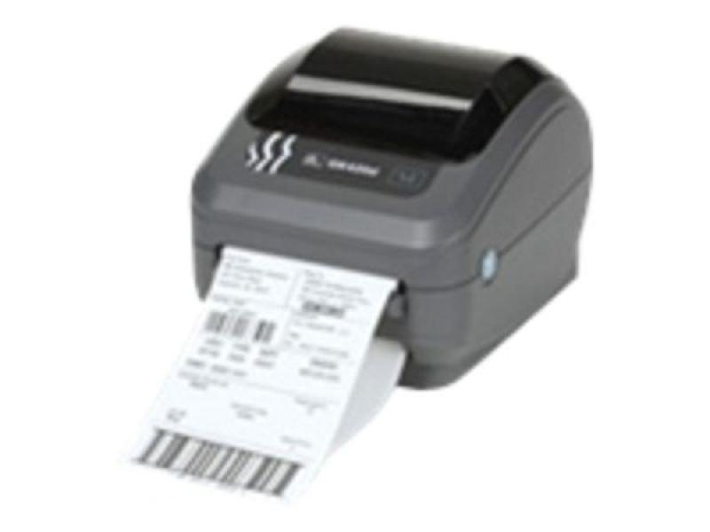 Zebra Technologies GK420d (USB, Serial & Parallel) + Dispenser GK420d Direct Thermal Desktop Printer