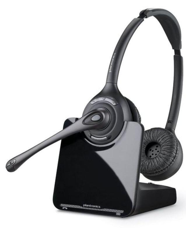 Plantronics CS 520A Wireless Binaural DECT Headset
