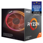 AMD Ryzen 7 3700X AM4 CPU/ Processor with Wraith Prism RGB Cooler