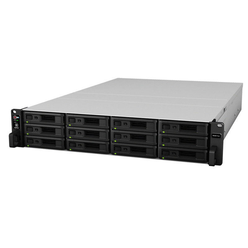 Synology RS3617xs+ 120TB (12 x 10TB TOSH-ENT) - 12 Bay Rack NAS Unit