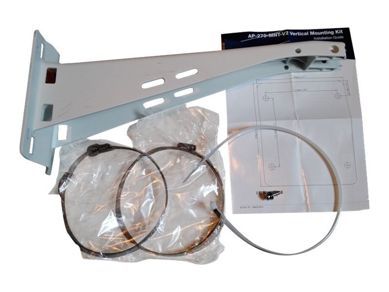 HPE Aruba Outdoor Pole/Wall Long Mount Kit - Network Device Wall / Pole Mounting Kit