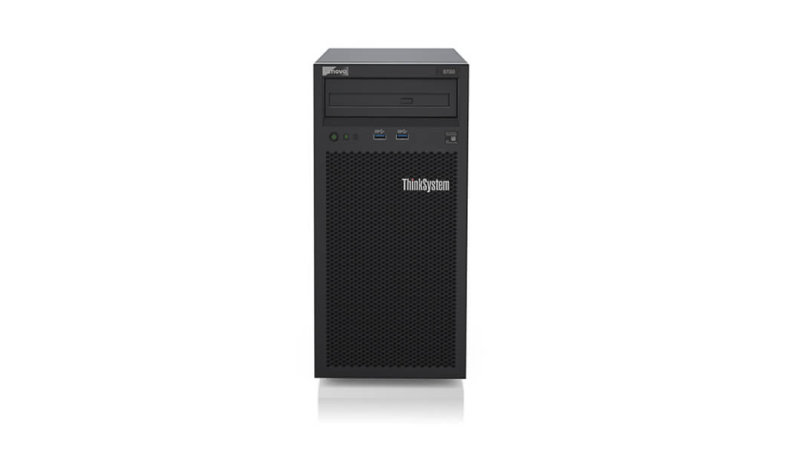 Lenovo ThinkSystem ST50 - Tower - Xeon E-2224G 3.5 GHz - 8 GB - HDD 2 x 1 TB