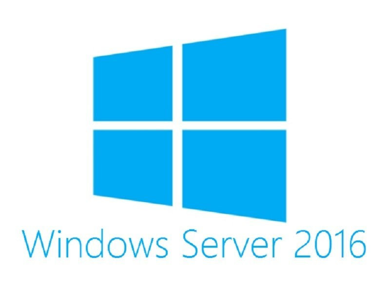 HPE Microsoft Windows Server 2016 - Datacenter Edition ROK 16 Core - No Reassignment Rights - EN