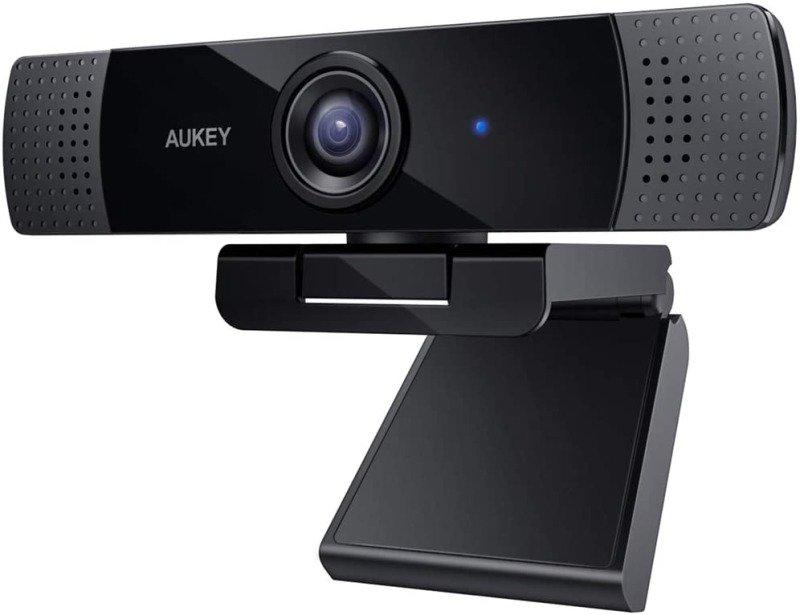 Aukey 1080p Webcam - Skype, Teams & Zoom Compatible