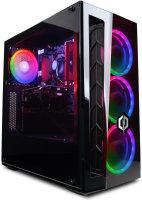 EXDISPLAY Cyberpower Gaming Desktop PC AMD Ryzen 5 3600 3.6GHz 16GB DDR4 2TB HDD 240GB SSD NVidia RTX 2060 Windows 10 Home