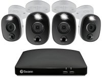 Swann 4 Camera 8 Channel 1080p Full HD DVR Security System with 1TB HDD