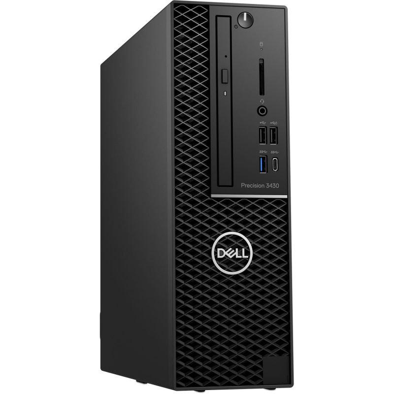 EXDISPLAY Dell Precision 3431 SFF Workstation Desktop PC Intel Core i7-9700 3GHz 16GB RAM 512GB SSD M.2 DVDRW AMD Radeon PRO WX 3100 4GB Windows 10 Pro 3 Year Onsite