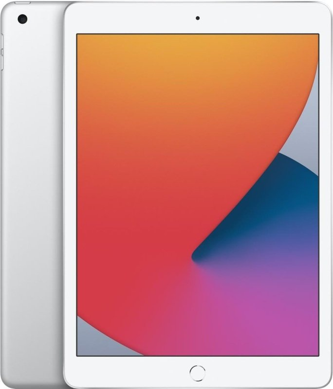 Image of Apple iPad 8th Generation 10.2'' 32GB Wi-Fi Tablet - Silver - MYLA2B/A