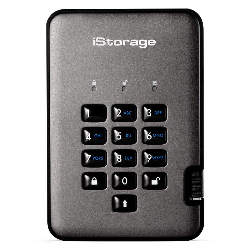 iStorage 5TB diskAshur PRO2 HDD