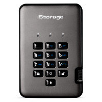 iStorage diskAshur PRO2 4TB Portable Hardware Encrypted Hard Drive