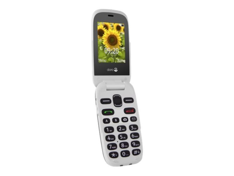 EXDISPLAY Doro 6030 Easy To Use Camera Phone With Large Display - Graphite/White