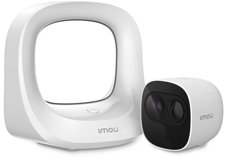 Image of Imou Cell Pro Full HD Wire Free Smart Battery Camera Kit With Base Station - Works with Alexa and Google Assistant