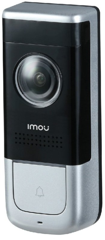 Imou Full HD Smart Wired Doorbell - Works with Alexa and Google Assistant