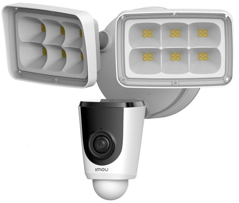 Imou Full HD Floodlight Camera with Siren - Works with Alexa and Google Assistant