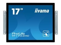 Iiyama ProLite TF1734MC-B6X - 17'' LED Touch Screen Monitor