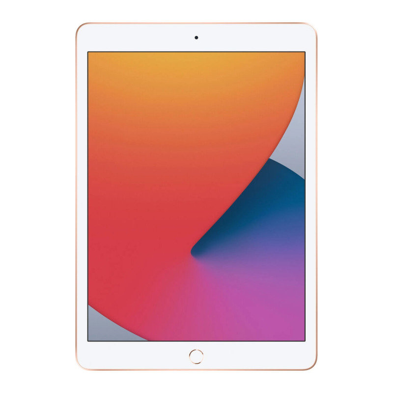 Image of Apple iPad 10.2'' 128GB Wi-Fi + Cellular Tablet (8th Gen) - Gold