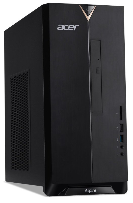 Image of Acer Aspire TC-895 MT Desktop PC, Intel Core i7-10700 2.9GHz, 8GB RAM, 1TB HDD, DVDRW, Intel UHD, WIFI, Windows 10 Home