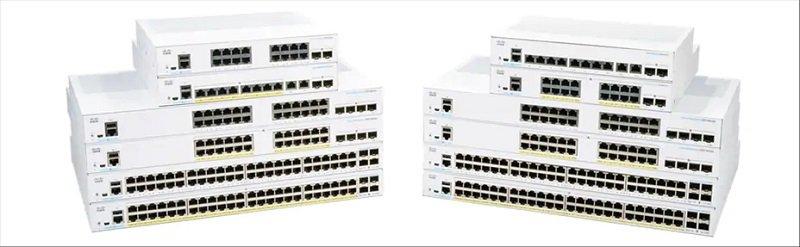 Cisco Business CBS250-8T-E-2G-UK - 250 Series - 8 Port Smart Switch