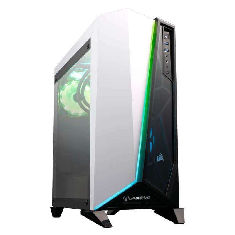AlphaSync RTX 3090 AMD Ryzen 9 3900XT 32GB RAM 4TB HDD 1TB SSD WIFI 6 Gaming Desktop PC