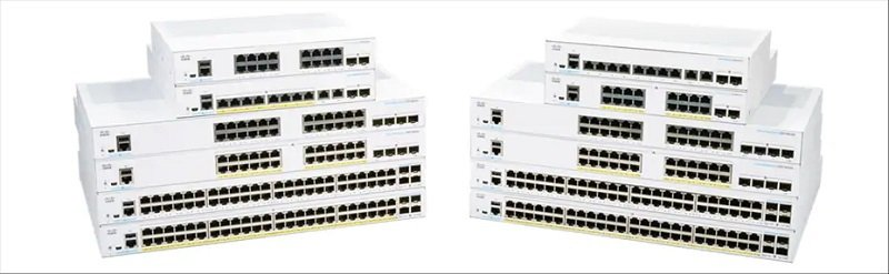 Cisco Business CBS250-24FP-4G-UK - 250 Series - 24 Port Smart Switch