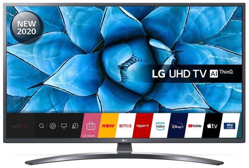 Lg 50un74003 50 Smart 4k Ultra Hd Hdr Led Tv With Google Assistant Amazon Alexa Ebuyer Com
