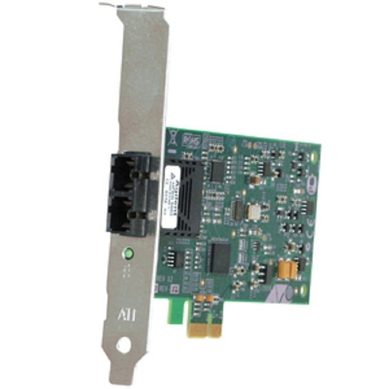 Image of Allied Telesis AT-2711FX - Fast Ethernet Card - PCI Express x1