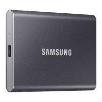 Samsung T7 Portable SSD - 2 TB - USB 3.2 Gen.2 External SSD - Grey
