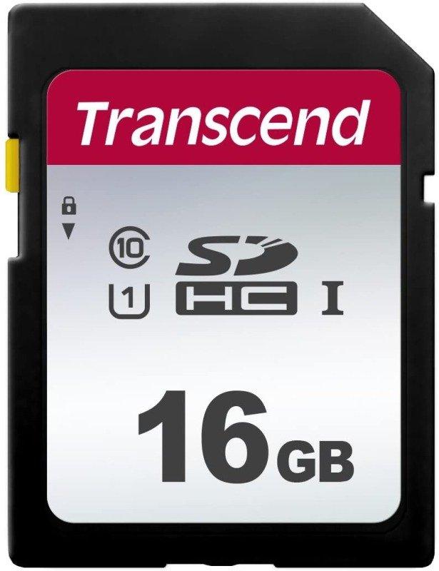 Transcend 16GB SDXC/SDHC 300S Memory Card