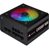 Corsair CX-F RGB Series 550W 80 Plus Bronze Fully Modular PSU Power Supply