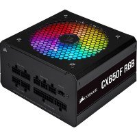 Corsair CX-F RGB Series 650W 80 Plus Bronze Fully Modular PSU Power Supply
