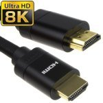 Ultra High Speed 8K HDMI Cable 1M - Black