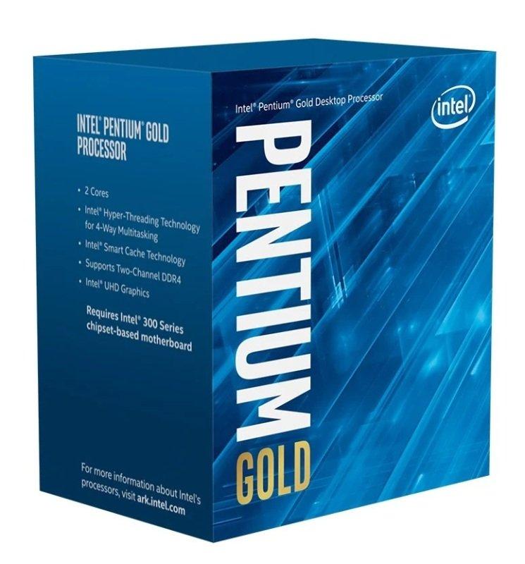 Intel Pentium G6400 10th Gen Comet Lake Dual Core Processor
