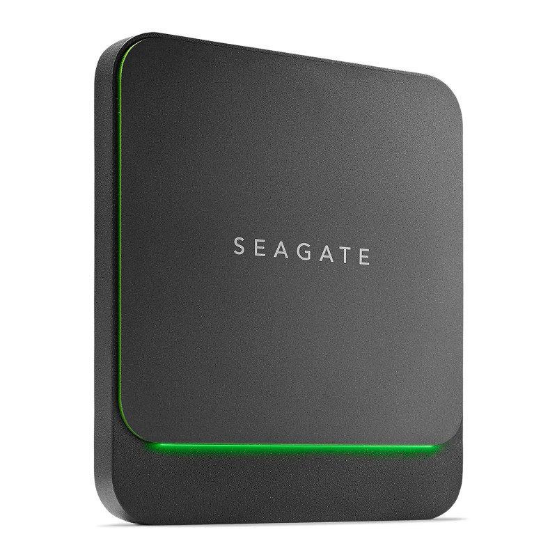 Seagate 500GB BarraCuda Fast External Portable USB-C/A SSD