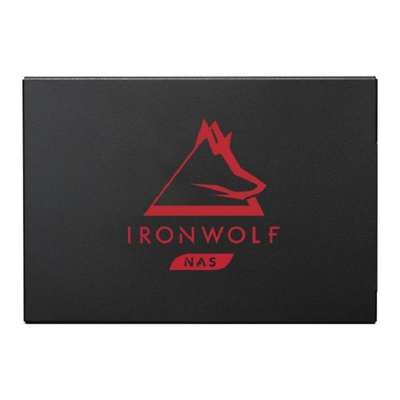 """Seagate Ironwolf 125 500GB 2.5"""" NAS Solid State Drive"""