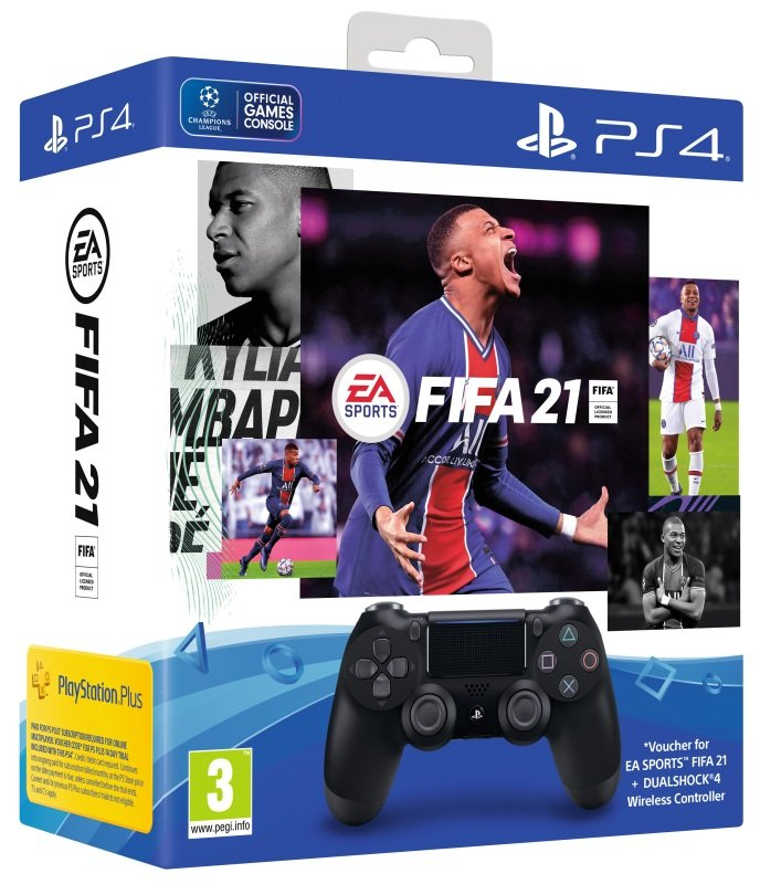 EA SPORTS FIFA 21 DUALSHOCK 4 Wireless Controller Bundle