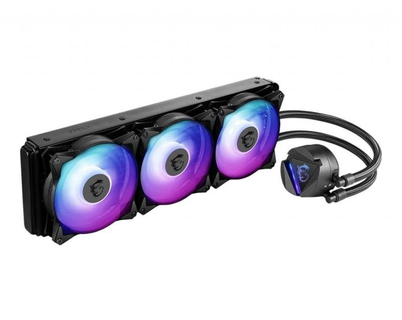 EXDISPLAY MSI MAG CORELIQUID 360R CPU AIO Cooler for Intel and AMD Platforms