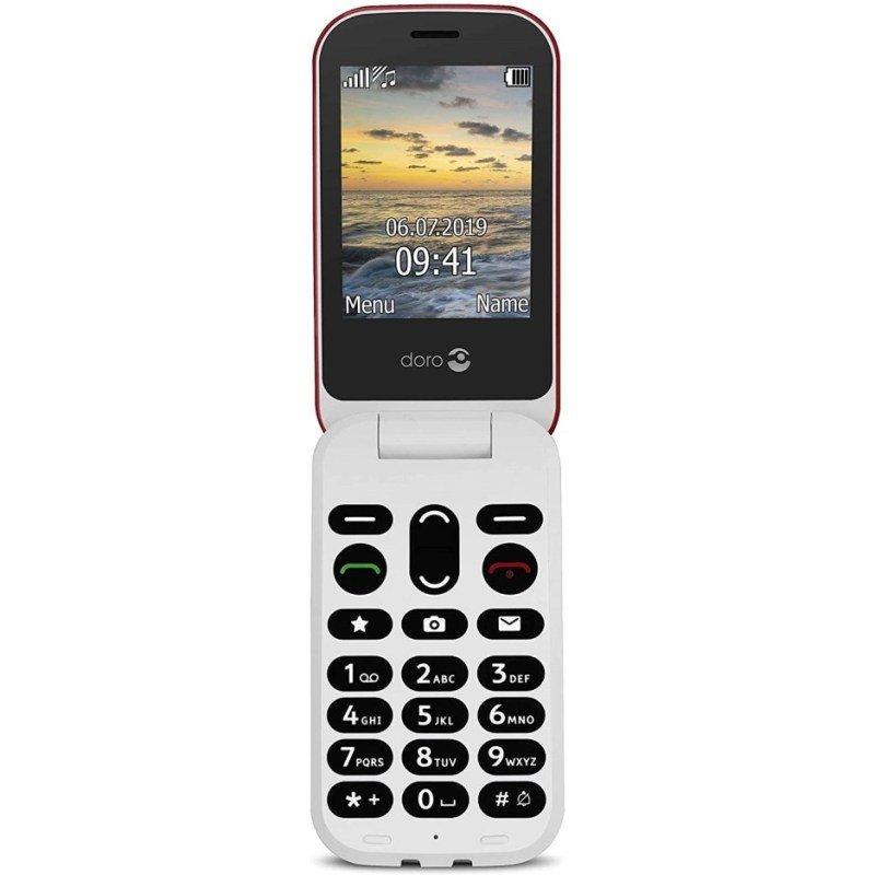 "Doro 6040  2.8"" 3G Mobile Phone - Red"